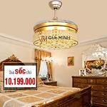 Quạt trần đèn GMT 8886-GOLD