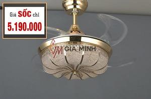 Quạt trần đèn GMT Luxury 888