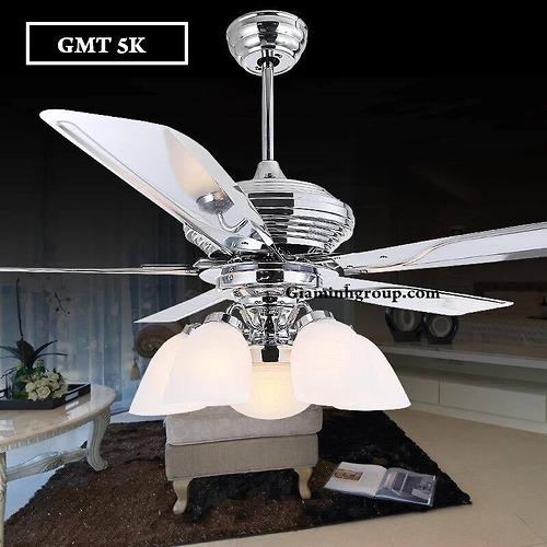 Quạt trần kết hợp đèn GMT 5K