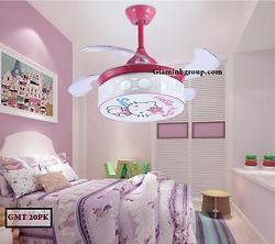Quạt trần trang trí phòng trẻ em GMT 20PK