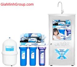 Máy lọc nước thông minh bình áp nhựa Karofi K50 (Tủ inox KNT)