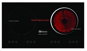 Bếp điện từ Grasso GS3 207 chính hãng, giá rẻ