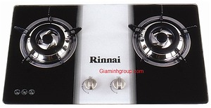 Bếp ga âm Rinnai RVB-2BG(W)N