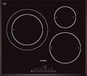 Bếp từ Bosch PIJ651F27E với thiết kế 3 vùng nấu