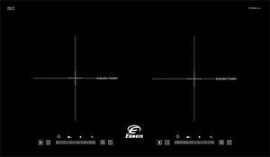 Bếp từ Essen ES 20BH sử dụng mặt kính Schott Ceran