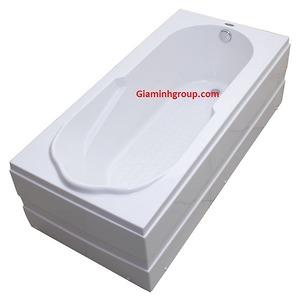 Bồn tắm Brother BY 8020 hình chữ nhật