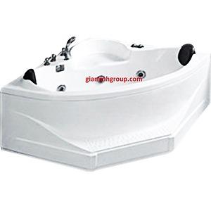 Bồn tắm góc Govern JS0743P màu ngọc trai