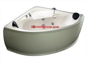 Bồn tắm massage Micio MMA 140MT chất liệu Acrylic trắng
