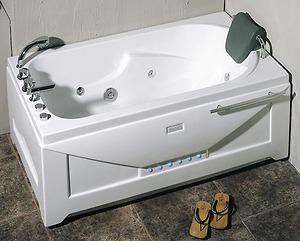 Bồn tắm massage Nofer NG 5501PL (có sục khí, đế ngọc trai)