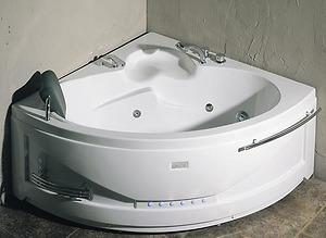 Bồn tắm massage Nofer NG 5503P (sục khí, đế ngọc trai)