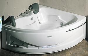Bồn tắm massage Nofer NG 5505P (sục khí, đế ngọc trai)