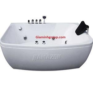 Bồn tắm nằm massage Amazon TP 8007 hình hạt đậu
