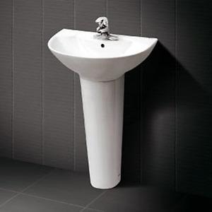 Chậu rửa chân dài Inax L-288V+L-288VD (Màu trắng)