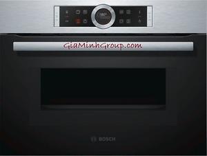 Lò nướng kèm lò vi sóng Bosch CMG633BS1B nhập khẩu Đức