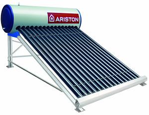 Máy nước nóng năng lượng Ariston Eco 1614 Mái bằng (14 ống Phi 47-116L)