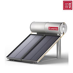 Máy nước nóng năng lượng mặt trời Ariston tấm phẳng đôi 200L mái bằng