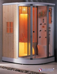 Phòng xông hơi Nofer SN 602R (Xông khô, Xông ướt, massage)