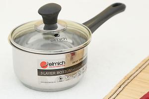 Quánh Inox đáy từ Elmich 14cm-SM6989