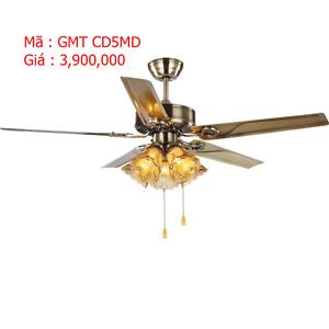 Quạt trần có đèn trang trí GMT CD5MD