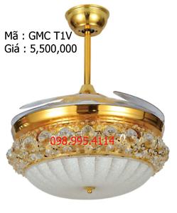 Quạt trần kết hợp đèn GMC T1V