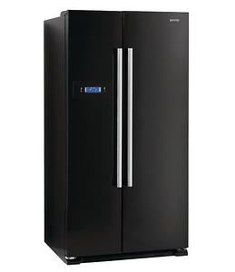 Tủ lạnh Side By Side Gorenje NRS 85728 BK