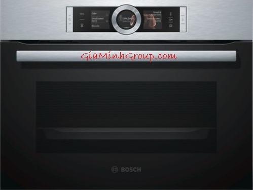 Lò nướng kèm lò hấp Bosch CSG656RS1 nhập khẩu Đức