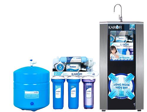 Máy lọc nước SRO bình áp nhựa Karofi K5S