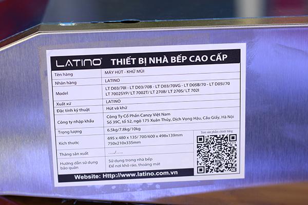 Máy hút mùi Latino LT - 702I