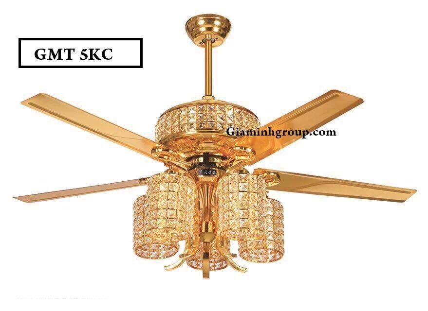 Tham vấn có hay không nên sử dụng quạt trần kết hợp đèn chùm GMT 5KC