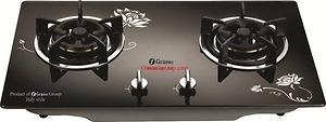 Bếp gas âm Grasso GS8-208 Hoa Văn