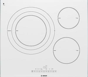 Bếp từ Bosch PID672F27E mặt kính màu trắng