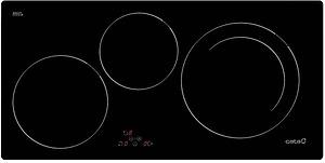 Bếp từ Cata ib 753 bk với tổng công suất 6,7 Kw
