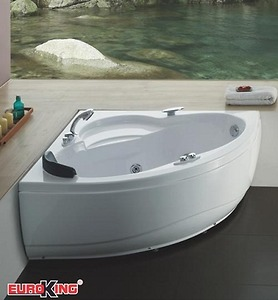 Bồn tắm góc massage Euroking EU 6600