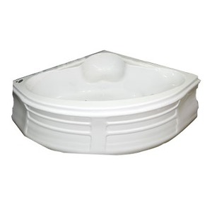 Bồn tắm góc Selta STG120120-NT (Ngọc trai)