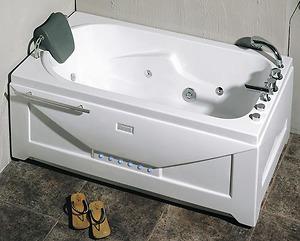 Bồn tắm massage Nofer NG 5501PR (có sục khí, đế ngọc trai)