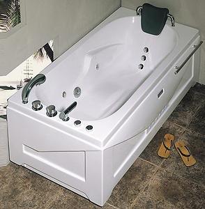 Bồn tắm massage Nofer NG 5502PL (có sục khí, đế ngọc trai)