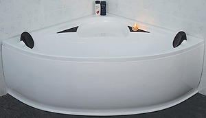 Bồn tắm Micio MMA-140BT acrylic trắng