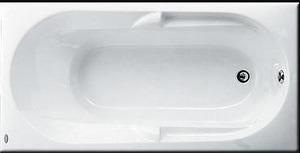 Bồn tắm xây Caesar AT0250 không chân không yếm