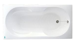 Bồn tắm xây Caesar AT0350 không chân yếm