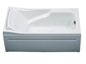 Bồn tắm xây Caesar AT0440 không chân yếm
