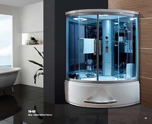 Bồn tắm xông hơi massage Daros 16-03P