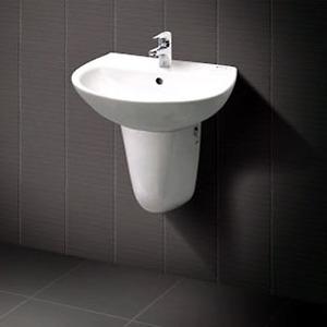 Chậu rửa chân lửng Inax L-285V+L-288VC (Màu trắng)