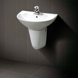 Chậu rửa chân lửng Inax L-288V+L-288VC (Màu trắng)