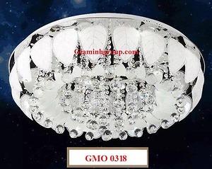 Đèn ốp trần mâm led GMO 0318