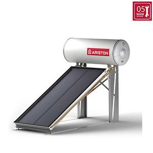 Máy nước nóng năng lượng mặt trời Ariston tấm phẳng đơn 150L mái bằng