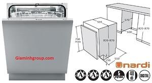 Máy rửa bát NARDI LSI6012SH
