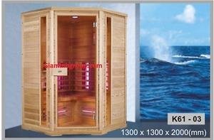 Phòng xông hơi Govern K61-R03 xông khô bằng tia hồng ngoại