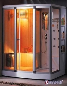 Phòng xông hơi Nofer SN 601R (Xông khô, Xông ướt, massage)