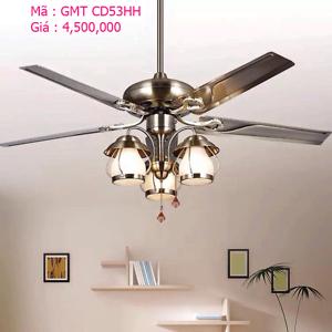 Quạt trần đèn trang trí GMT CD53HH