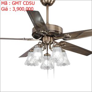 Quạt trần đèn trang trí GMT CD5U